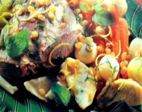 recette gigot d agneau en pot au feu recette gigot d agneau en pot au feu plat avec photo