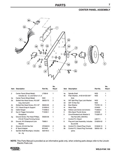 lincoln electric weld pak 100 manual