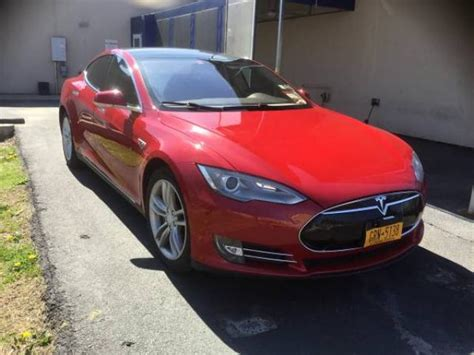 Used Electric Cars by Used Tesla Model S For Sale 45000 Albamy Electric