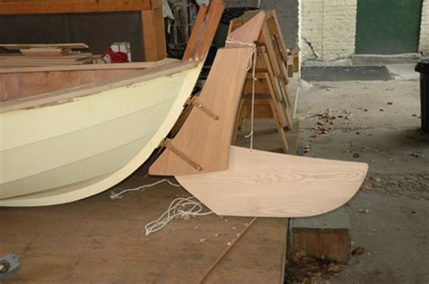 Dory Boat Rudder by Attaching A Faering S Rudder