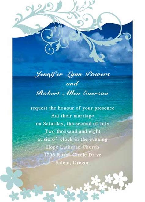 modern seaside summer beach wedding invitations ewi