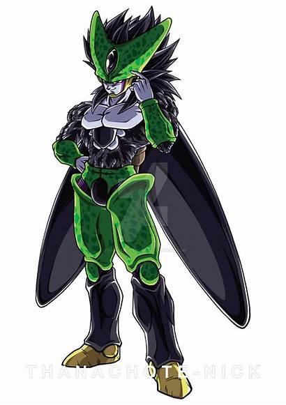 Cell Perfect Ssj4 Dragon Ball Thanachote Nick