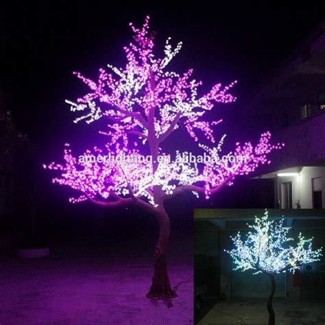 led tree lights 2 8m large artificial outdoor led twig tree lighted