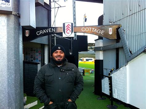 Craven Cottage Tour by Emdad Rahman All In A Day S Work Visiting Craven