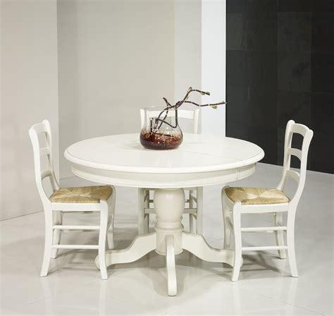 table de cuisine ronde avec rallonge table ronde pied central en merisier massif de style louis philippe diametre 120 2 allonges de