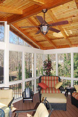 pin  jo haywood  screened  porch ideas screened