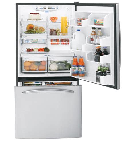 ge profile energy star  cu ft bottom freezer
