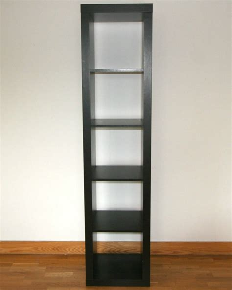bureau expedit ikea shelving unit bookcase expedit kallax black brown