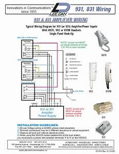 Elvox 8870 Handset White Buzzer 5