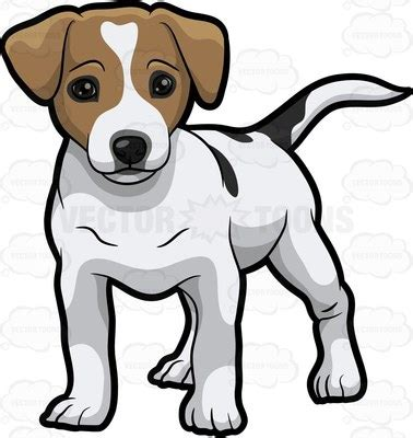 jack russell clipart cartoon images
