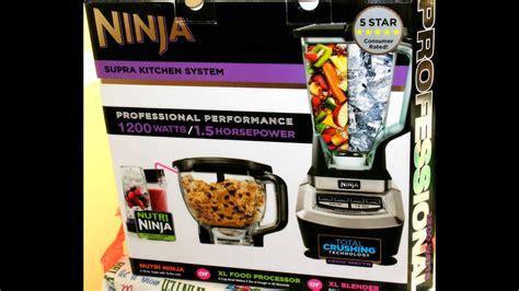 ninja blender review mega kitchen system blender