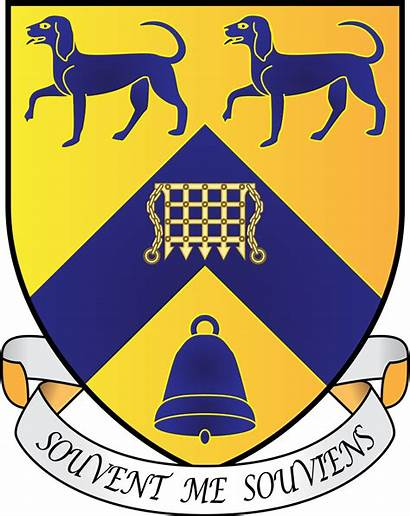 Oxford Hall Margaret Lady Arms Coat Svg