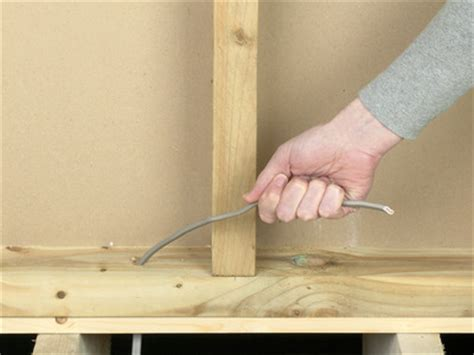 how to run wires and cables around a doorway how tos diy