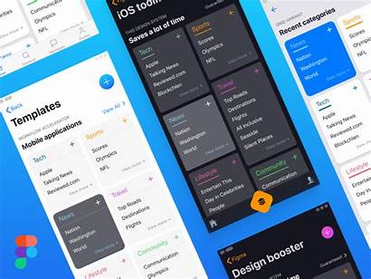 Ios Figma Layouts Card Dribbble Styles System