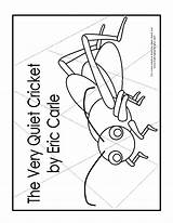 Coloring Cricket Quiet Very Pages Firefly Lonely Template Puzzle Activities Printables Sheet Popular Fly Templates Coloringhome Version sketch template