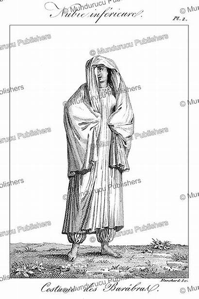 Woman Nubian Sudan Northern Nomade Tribe 1826