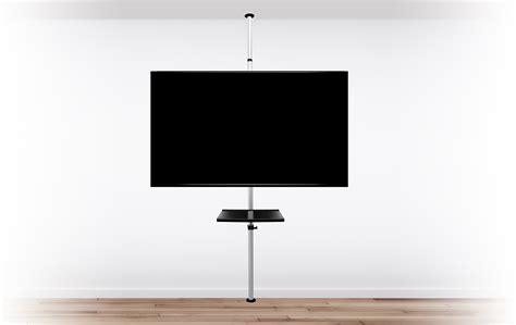 support tv sur pied support tv sur pied orientable et inclinable potorose