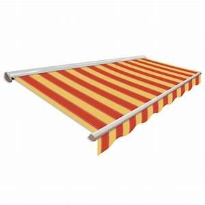 Toldo Toldo Semicofre Duncan 5 m x 3 m Manual Store en stock