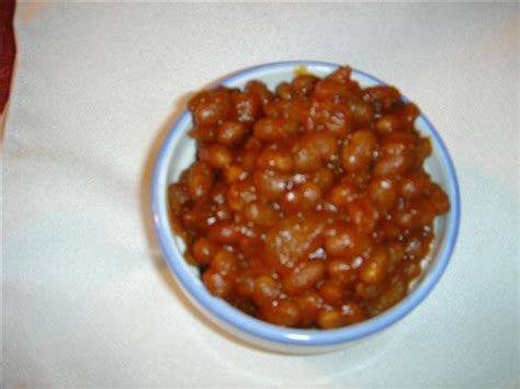 baked beans in the crock pot recipe food