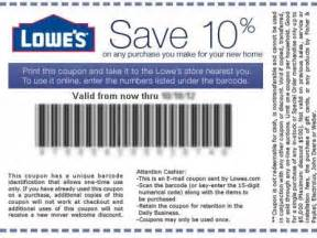 lowes coupons and promo codes printable coupon and deals