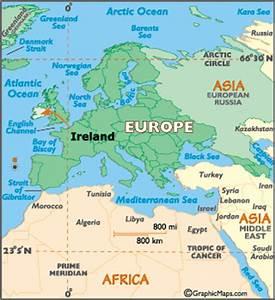 Ireland Map / Map of Ireland - Worldatlas.com