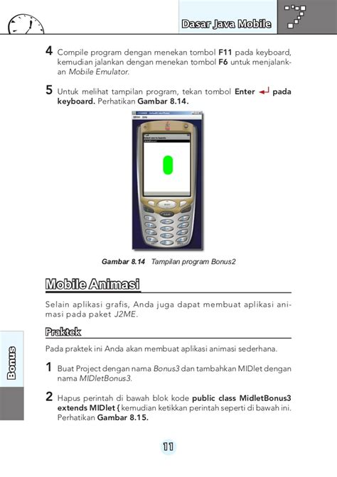 Java Mobile by Dasar Java Mobile