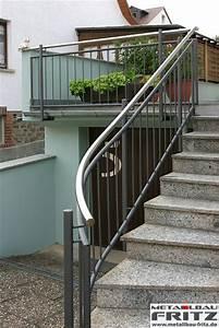 Treppengeländer Außen Holz : schlosserei metallbau fritz treppengel nder au en 07 04 ~ Michelbontemps.com Haus und Dekorationen