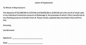 what is a letter of explanation the truth about mortgage With cash out refinance letter of explanation template