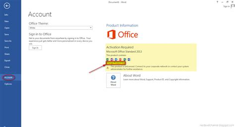 activate microsoft office 2013 how to install and activate microsoft office
