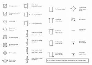 Lighting symbols for reflected ceiling plan