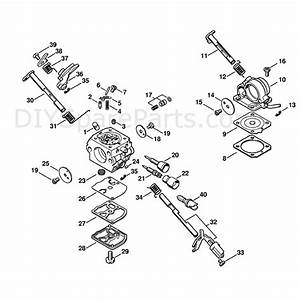 Stihl Ms 211 Chainsaw  Ms211c  Parts Diagram  Carburetor