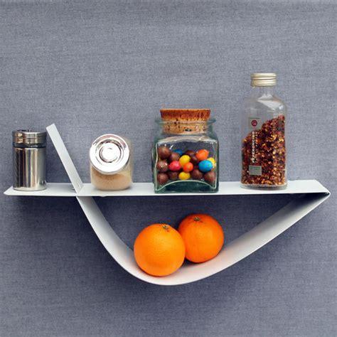 étagère à poser cuisine etagère murale blanche moderne tablette murale design 45 cm
