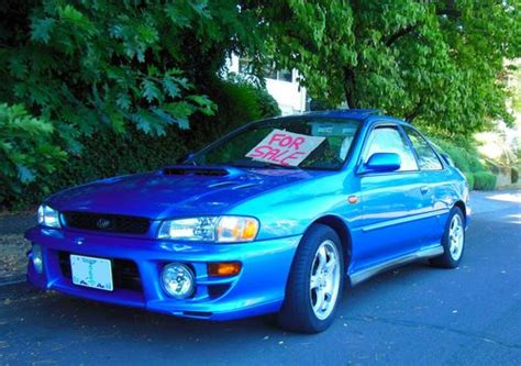 Sell Used 1999 Subaru Impreza Rs Coupe 2-door 2.5l In