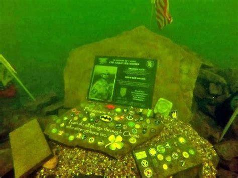 navy seal adam browns underwater memorial