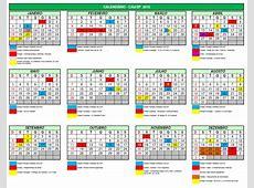 Calendario 2016 Com Feriados Nacionais E Regionais