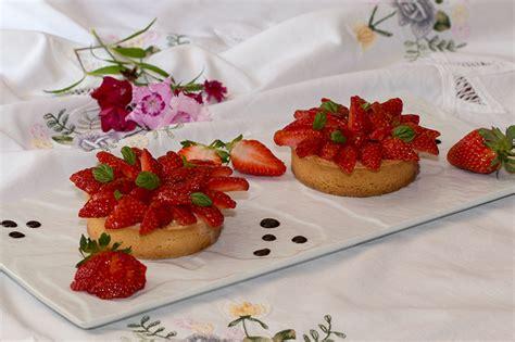 ma cuisine indienne tartelettes aux fraises infusion au basilic