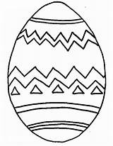 Coloring Egg Easter Cartoon Recognition Develop Creativity Ages Skills Focus Motor Way sketch template