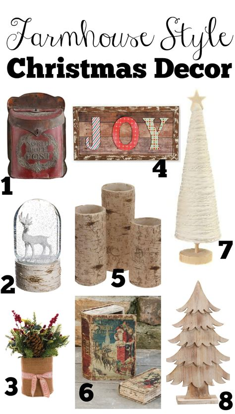 farmhouse style christmas decor guide  vintage nest