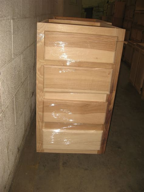 Blue Ridge Surplus: Hickory Unfinished Cabinets