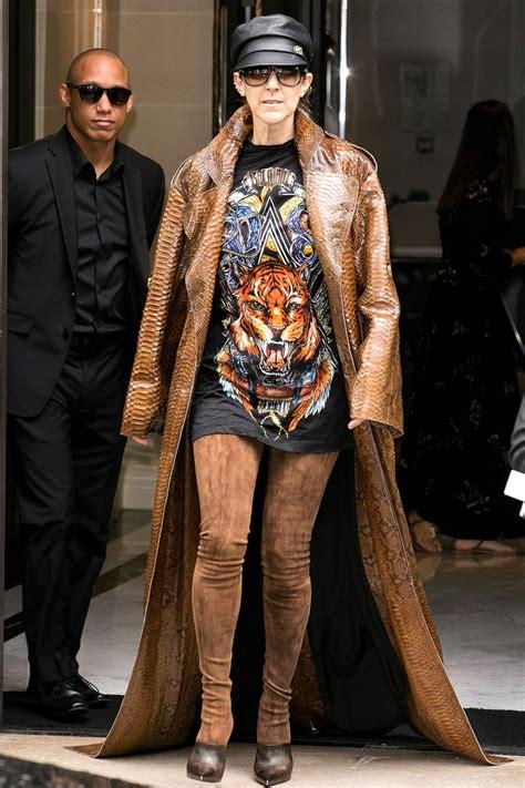 celine dion   fashion icon   vanity fair