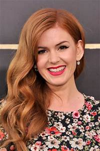 Isla Fisher Long Wavy Cut - Long Wavy Cut Lookbook ...