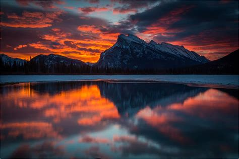 mount rundle christopher martin photography