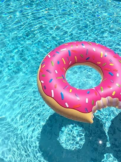 Floats Donut Instagram Salvo Parede Papel
