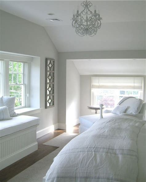 cottage with inspiring coastal interiorswall paint color is benjamin light pewter 1464