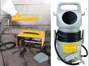 harbor freight portable sand blaster demo how to save money and do it yourself