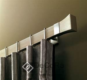 Tringle A Rideau Noir : tringles rideaux barres rails et c bles pour professionnels ~ Mglfilm.com Idées de Décoration