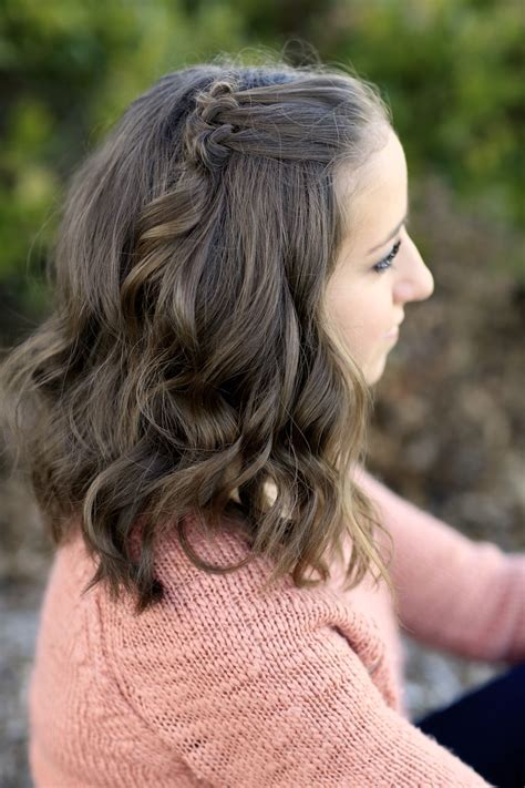 triple knot accents short hairstyles cute girls hairstyles