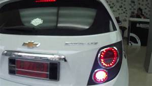 Chevy Sonic Lights Chevrolet Aveo Sonic Led Lights ไฟท ายเชฟโรเลตโซน ค