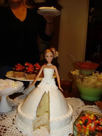 Shower Bridal Cake Barbie Doll Couple Decoration