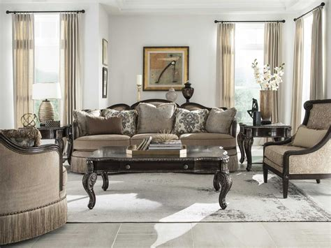 Furniture : A.r.t. Furniture Giovanna Azure Living Room Set